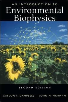 Environmental Biophysics lecture textbook