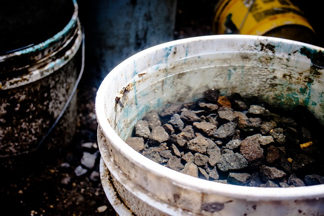 One group of scientists tried burying their data loggers in five gallon buckets.