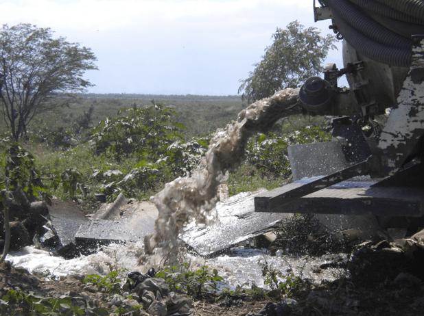 Human wastes are making their way into Haiti's waterways.