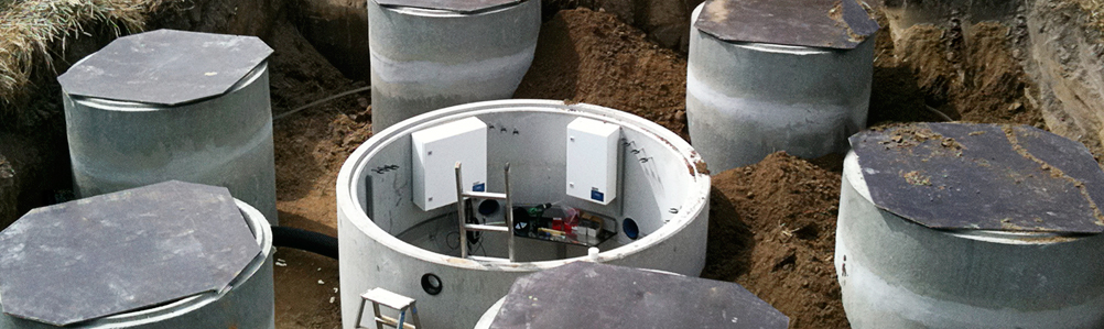 Image of Lysimeters in there installation site