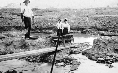 ANU Seminar: Rivers of Gold: An Environmental History of Water, Mining, and Landscape Change