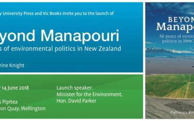 Book launch: Catherine Knight, Beyond Manapouri