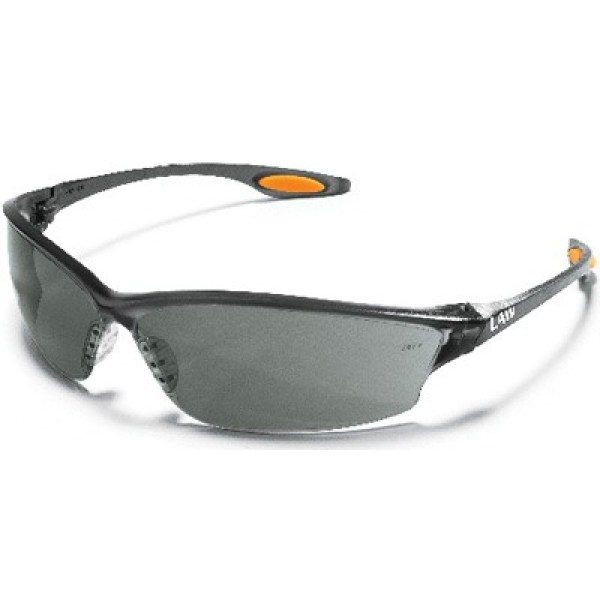 Law2 Safety Glasses With Grey Lens Crews