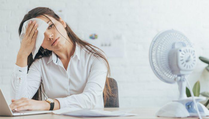 office-overheating