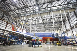 Southwest Airlines plans to install engine bleed air temperature-monitoring sensors and supporting wiring on its entire Boeing 737NG fleet by 2017. Credit: Southwest Airlines
