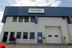 BORIS MINKEVICH / WINNIPEG FREE PRESS Cargojet already flies freight planes in and out of Winnipeg, but it doesn't have a maintenance operation here.