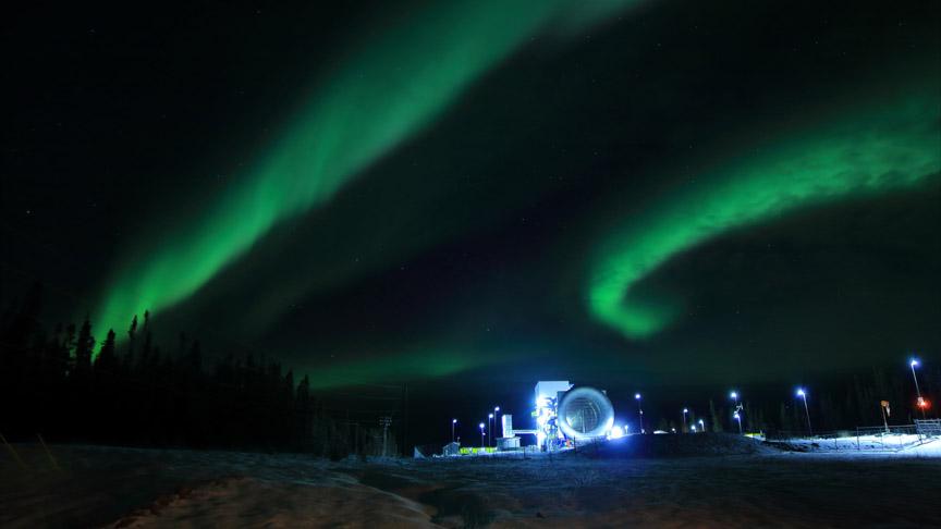 Northern lights at GLACIER