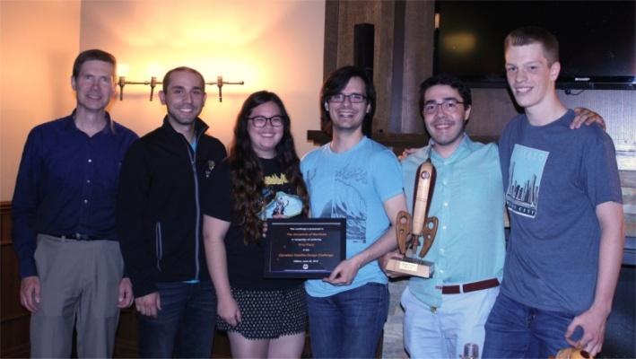U of M wins the 4th CSDC!