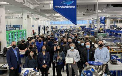 Rolls-Royce Recognition of StandardAero