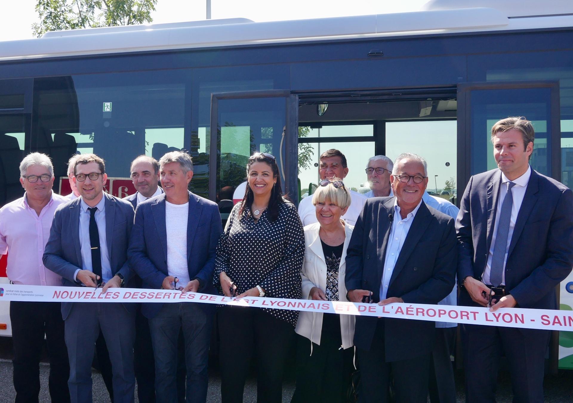 Le Sytral améliore la desserte de l'Est lyonnais et du secteur aéroportuaire