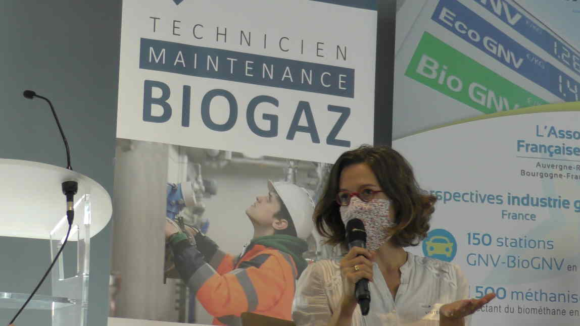 Emeline Baume, première vice-présidente de la Métropole de Lyon, déléguée notamment à l'économie