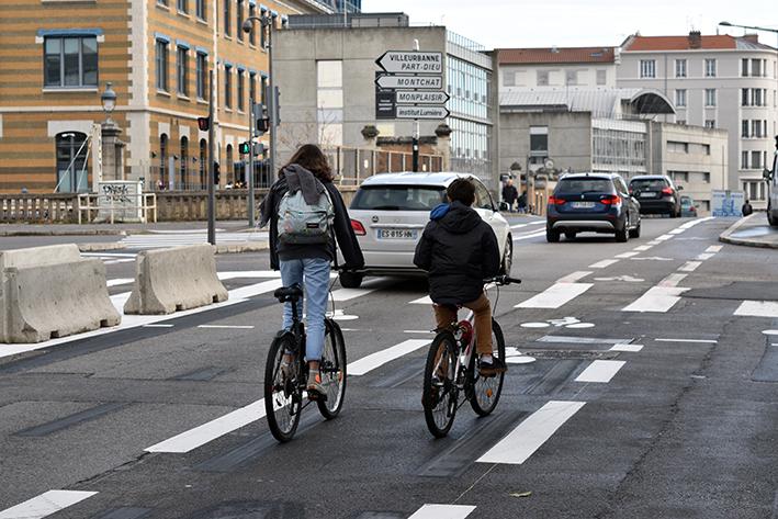 La Métropole de Lyon veut développer la formation des cyclistes