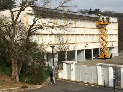 Le chantier de Rillieux ( Toits en Transition)
