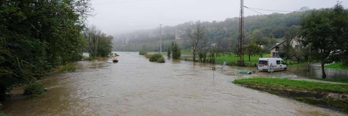 Risque inondation : le Cerema au service des territoires