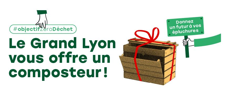 La Métropole de Lyon offre 20 000 composteurs aux particuliers
