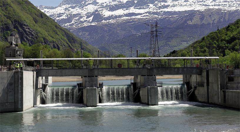 Romanche Gavet : un puits de chute de 163 mètres