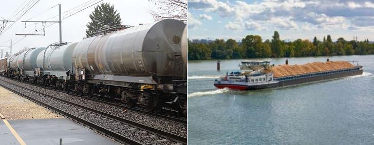SNCF Réseau et VNF misent sur la complémentarité fer/fleuve pour inciter au report modal