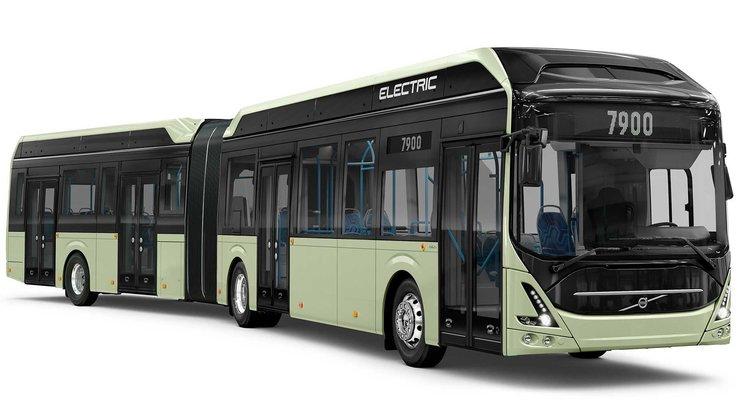 Un bus articulé 100 % électrique pour Volvo