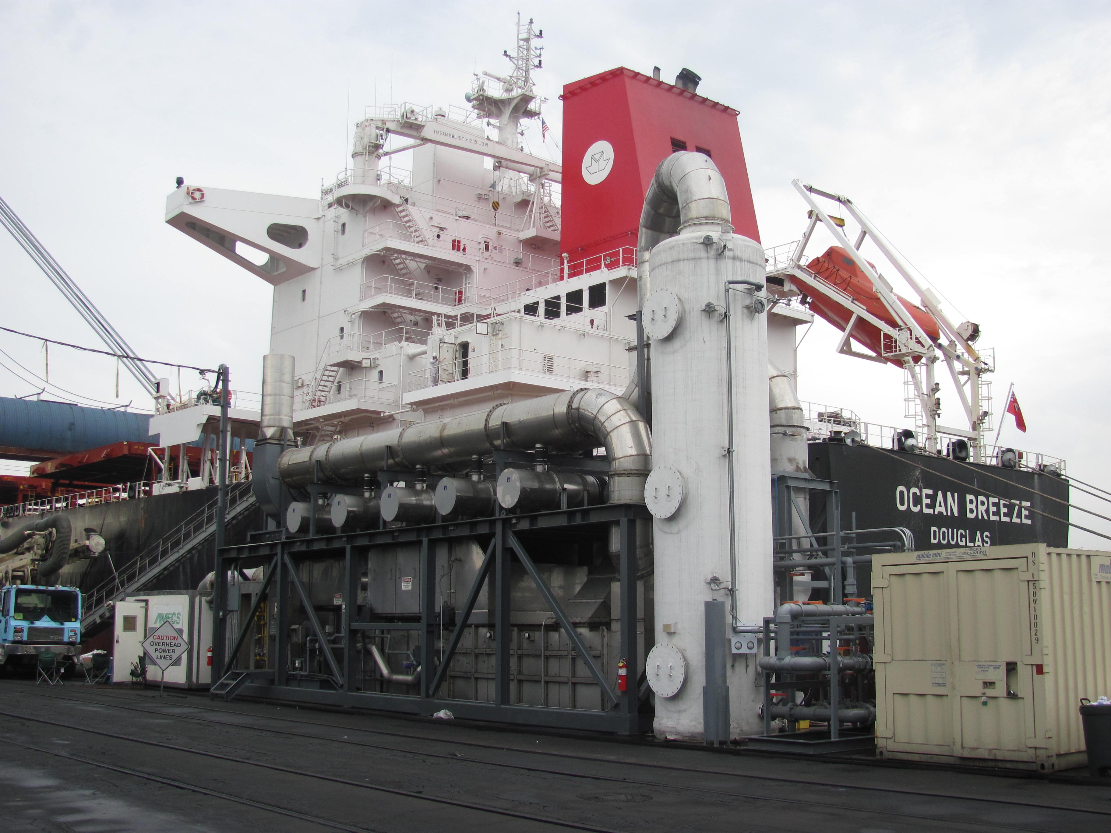 marine diesel exhaust gas so2 scrubber