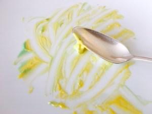 Crémeux Avocat & Mangue, Biscuit léger au yaourt Sorbet Avocat (C'était vraiment bon !!!)
