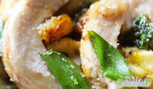 Étreinte gourmande (poulet au four, Fourme d'Ambert, missolè, épices du 237 et d'autres bonnes choses) !