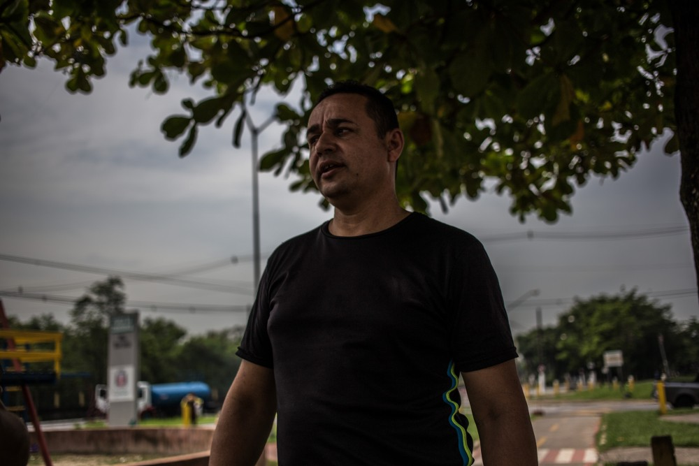 Ednei de Souza completava 9 anos no dia do desastre de Cubatão. 'Eles [a Petrobrás] têm dívida eterna com a Vila'. José Cícero da Silva/Agência Pública