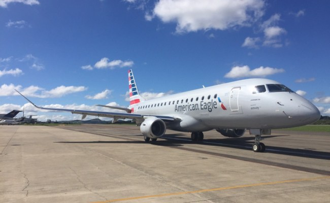 Behind The Scenes Of An E175 Aircraft Delivery Envoy Air