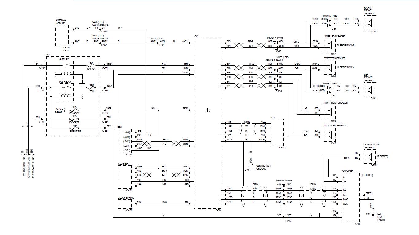 hight resolution of fg icc wiring diagram wiring diagram dat fg falcon stereo wiring diagram fg falcon wiring diagrams