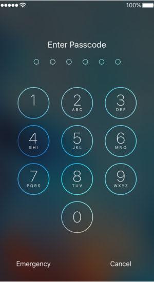 IphonePassword