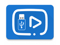 usb media colour icon
