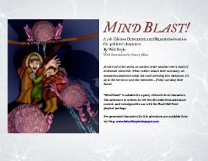 Mind Blast! cover illustration