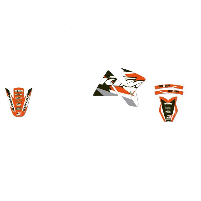 Kit Adhesivos Blackbird Dream 3 KTM EXC 125/200/250/300 98