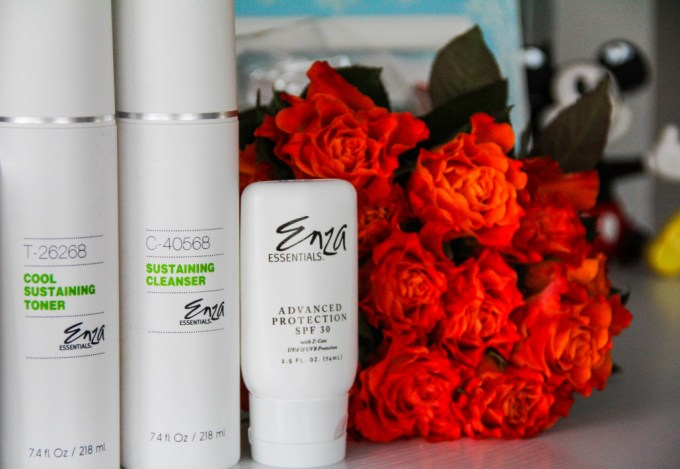 wannabe fashion blogger, cleanser, toner, spf, Enza Essentials,beauty tips for busy days