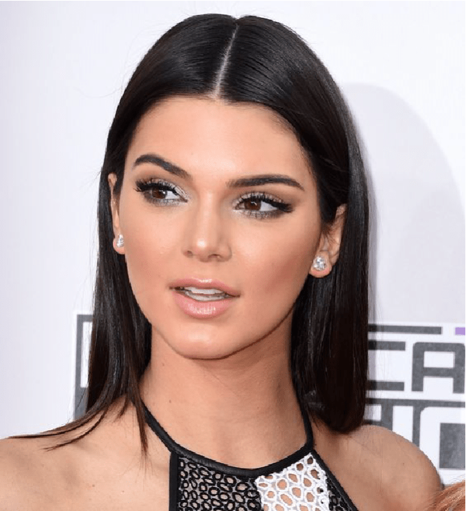 kendall jenner, eyes, makeup, glitter, silver, beauty, fall beauty favorites,