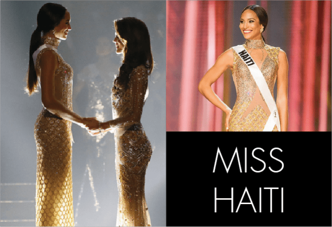 SAG AWARDS MISS UNIVERSE, best in beauty, runway, miss universe, pageant, miss haiti
