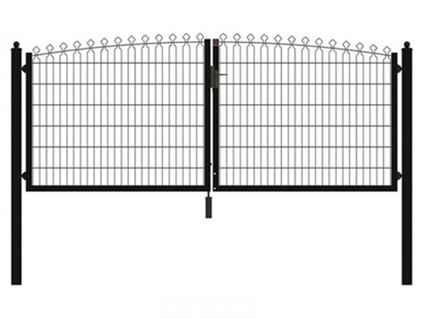 Prestige Wire Mesh Fence is a rigid welded mesh fence.