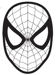 Elf on the Shelf Spider Man Mask: FREE Printable Mask