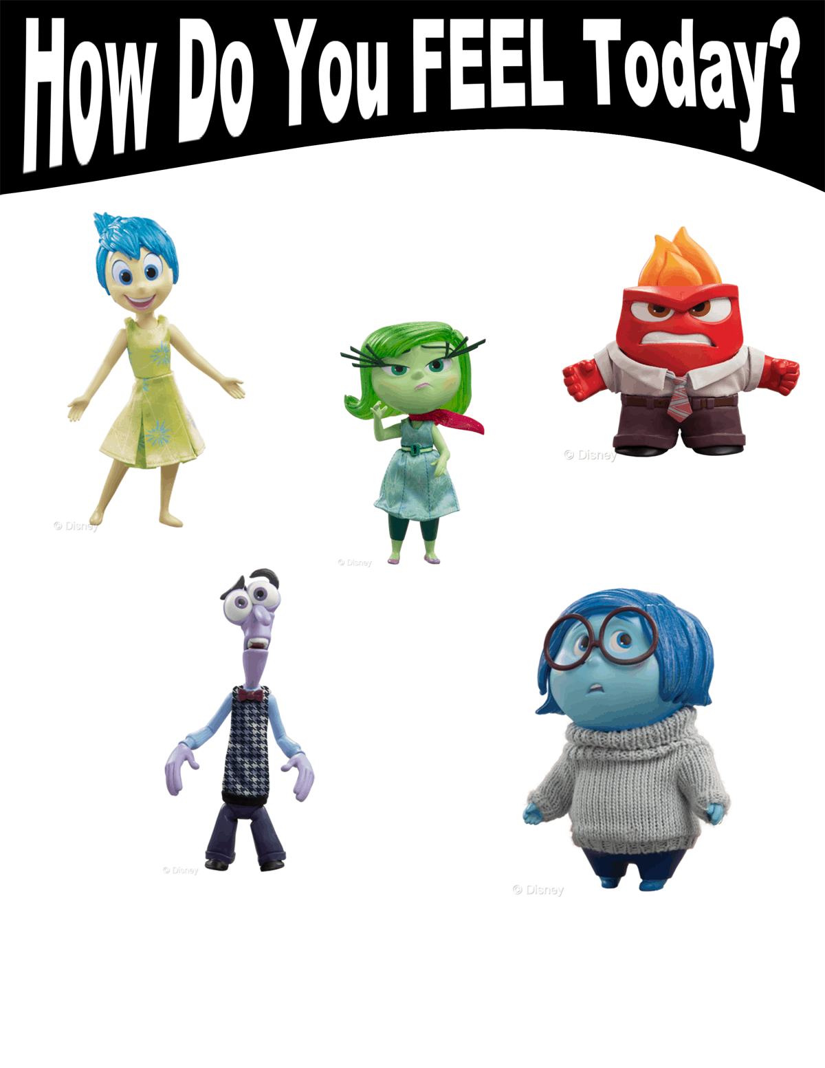 Inside Out Lesson Plans Amp Feeling Chart