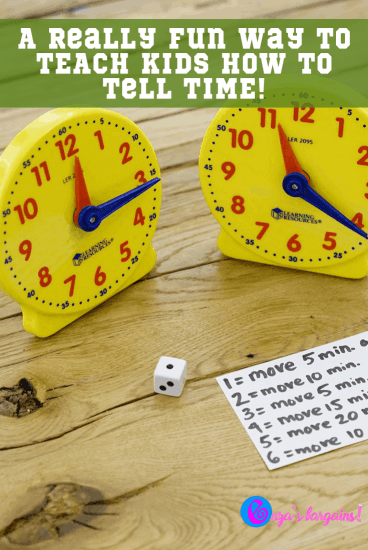 Rush Hour Game - How to TEACH Kids How to Tell Time!