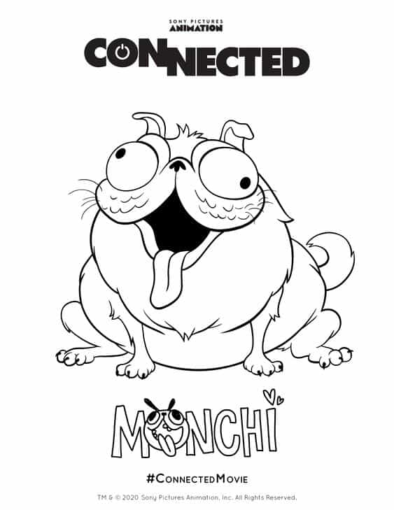 Sonys connected activity pages enzas bargains, i love dad coloring pages