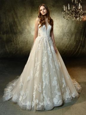 Modern Wedding Dresses  Blue by Enzoani  Enzoani  Enzoani