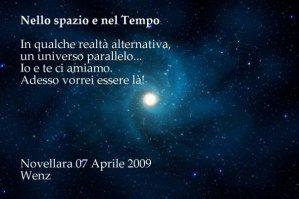 Nello Spazio e nel Tempo, poesia di Enzo Crotti