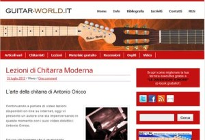Il blog Guitar-World.it