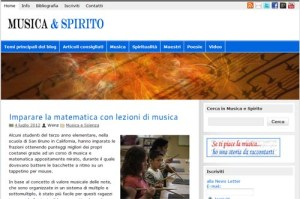Il blog Musica e Spirito