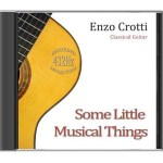 cover cd little things chitarra classica