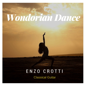 cover wondorian dance chitarra classica