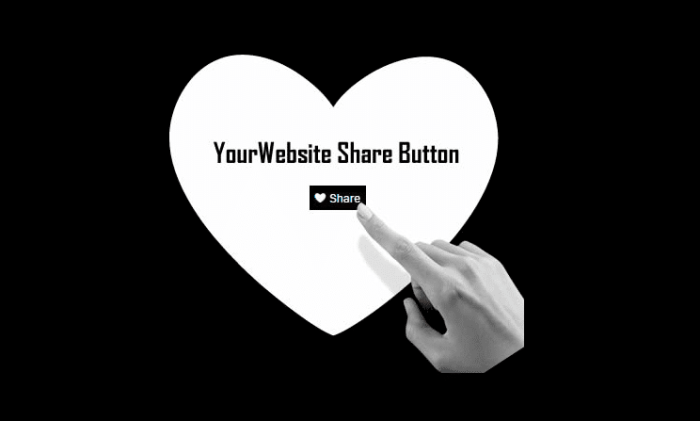 YourWebsite Share Button – Oxwall Plugin