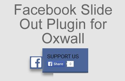 Facebook Slide Out Share Button