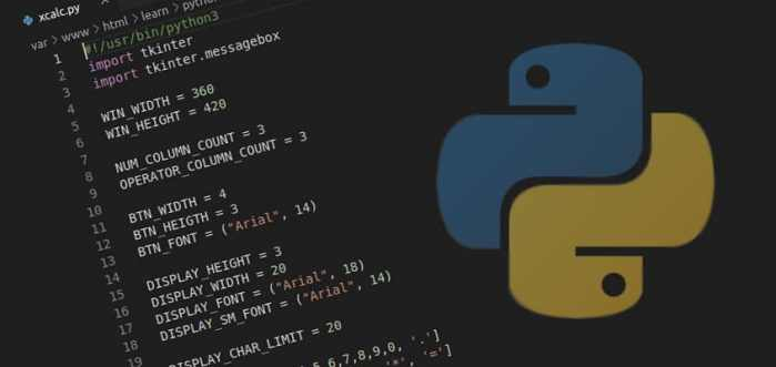 "Hello, Python! print(""Xcalc"") with TKinter GUI Module"