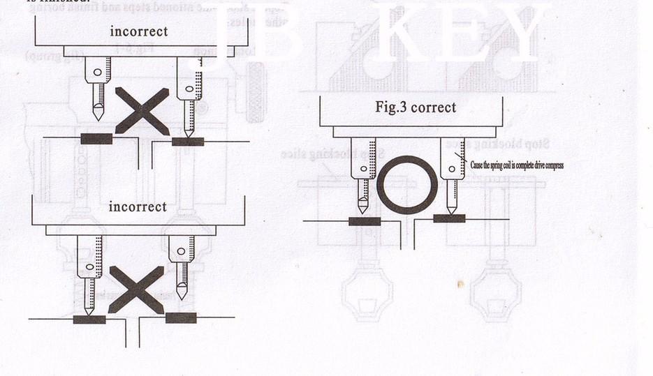 368A Vertical Car Household Key Copy Cutting Dulplicated